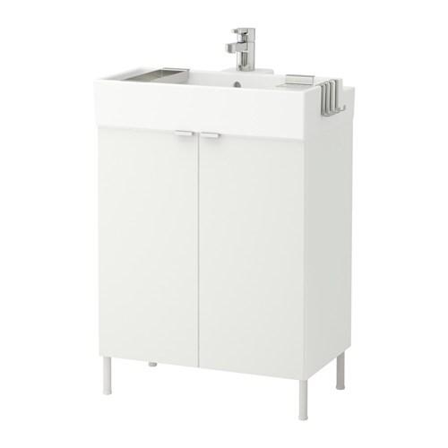 lill ngen waschkommode 2 t ren wei 60x41x87 cm ikea. Black Bedroom Furniture Sets. Home Design Ideas