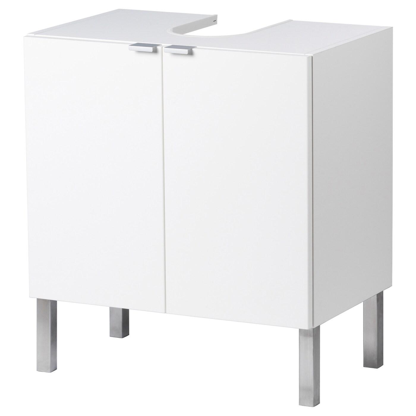 LILLÅNGEN Waschbeckenunterschrank, 11 türen - weiß 11x11x11 cm