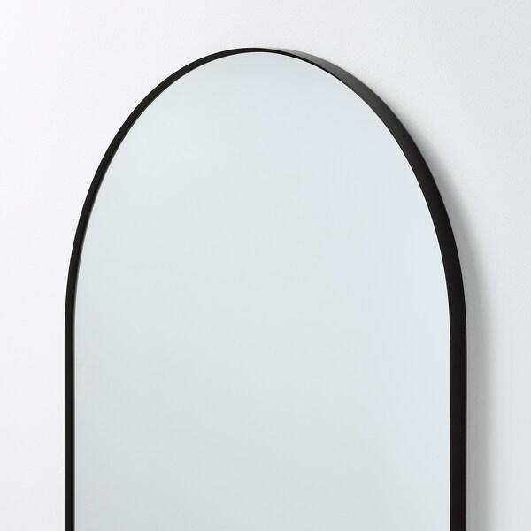 LINDBYN Spiegel, schwarz, 60x120 cm