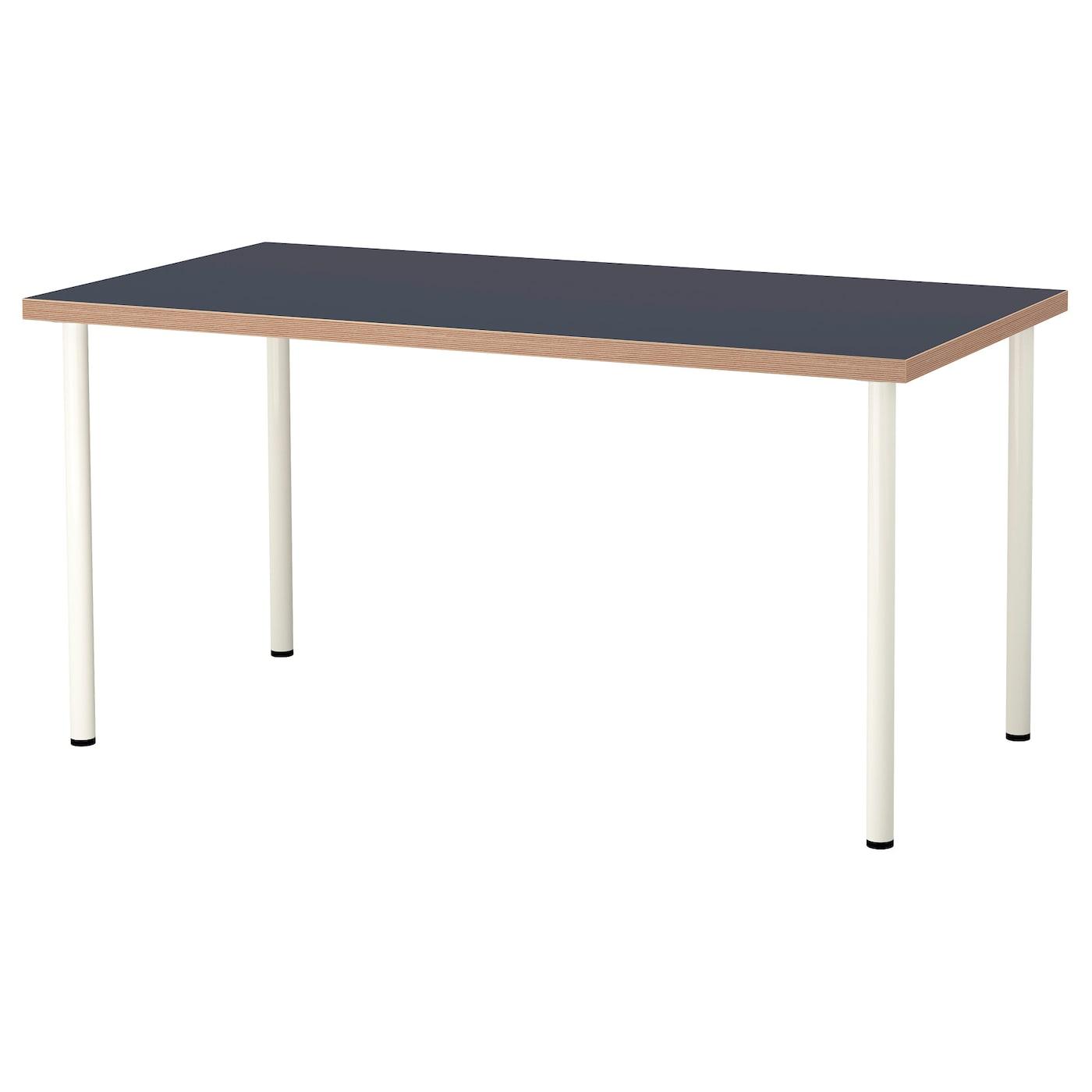 LINNMON / ADILS, Tisch, blau 092.143.32
