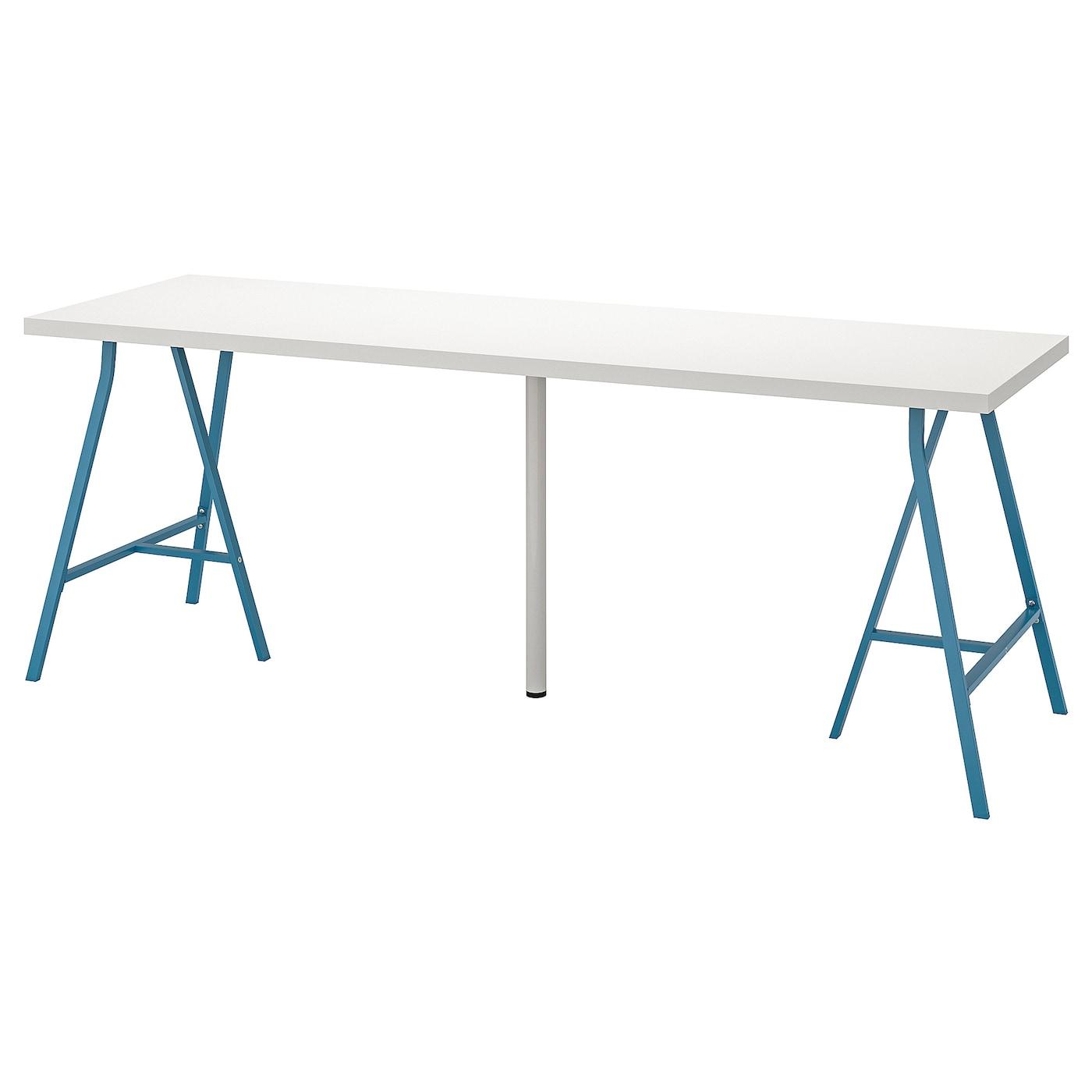 LINNMON ADILS Tisch weißblau 200x60 cm