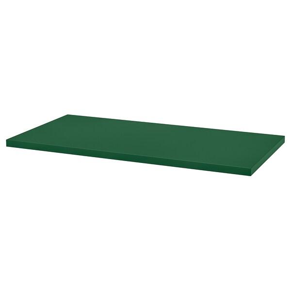LINNMON Tischplatte grün 120 cm 60 cm 3.4 cm 50 kg