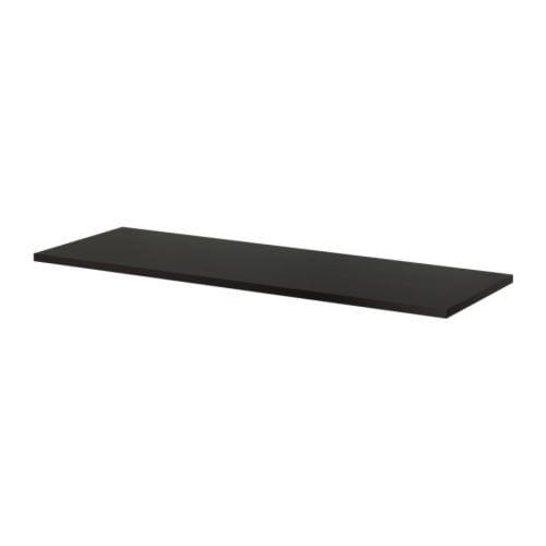 Tischplatte ikea birke  LINNMON Tischplatte - schwarzbraun - IKEA