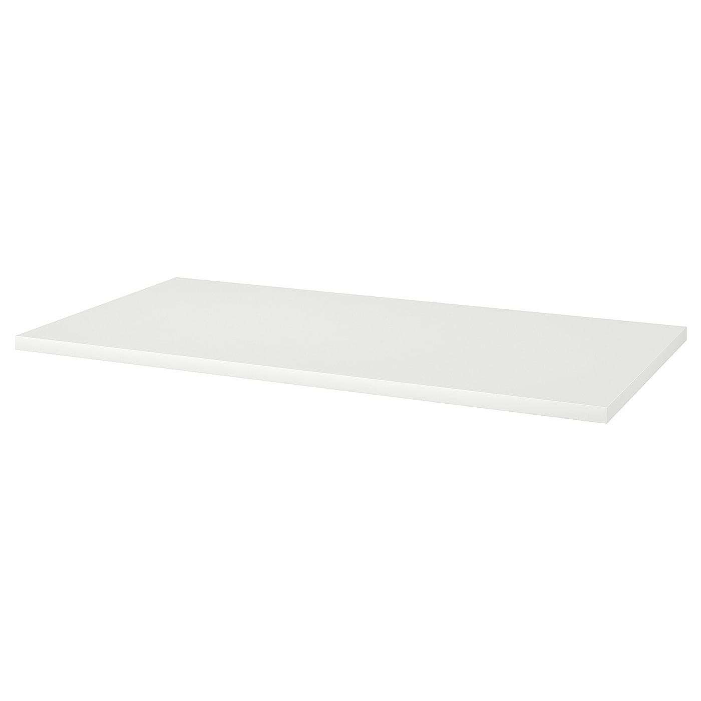 LINNMON Tischplatte - weiß 150x75 cm
