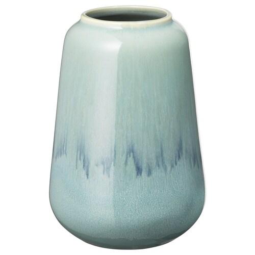 LIVSVERK Vase blau 21 cm