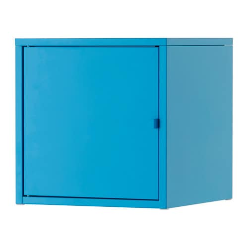 Lixhult schrank metall blau ikea for Mobile metallo ikea