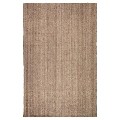 LOHALS Teppich flach gewebt, natur, 200x300 cm