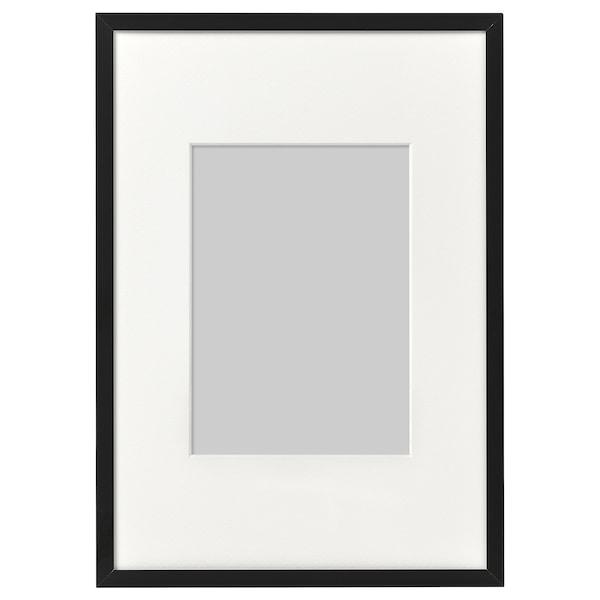 LOMVIKEN Rahmen, schwarz, 21x30 cm