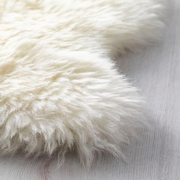 LUDDE Schaffell elfenbeinweiß 85 cm 55 cm 0.36 m²