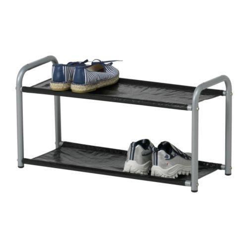 ikea schuhregal lustifik als hutablage oder schuhablage nutzbar 60x24x30cm neu ebay. Black Bedroom Furniture Sets. Home Design Ideas