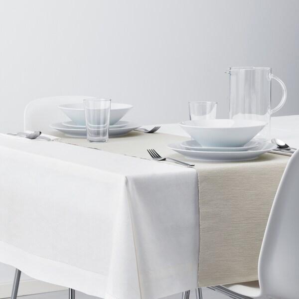 MÄRIT Tischläufer, graubeige, 35x130 cm