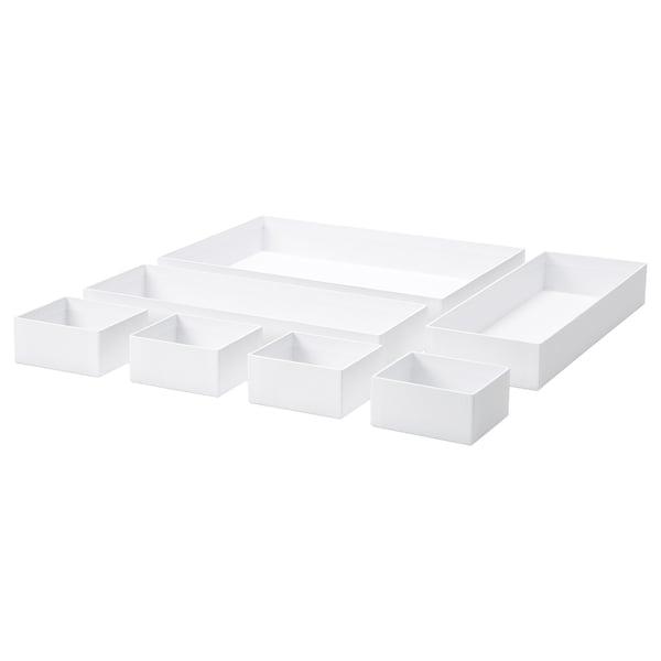 MALAREN Karton 7er-Set, weiß