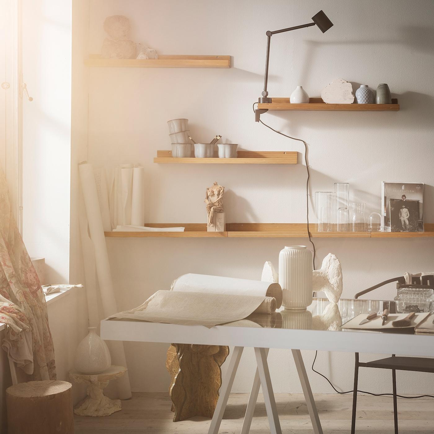 Maleras Bilderleiste Bambus Ikea Deutschland