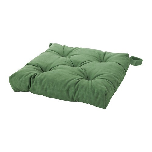 ikea sitzkissen stuhlkissen softkissen kissen 40x40 cm 7cm dick neu gr n green ebay. Black Bedroom Furniture Sets. Home Design Ideas