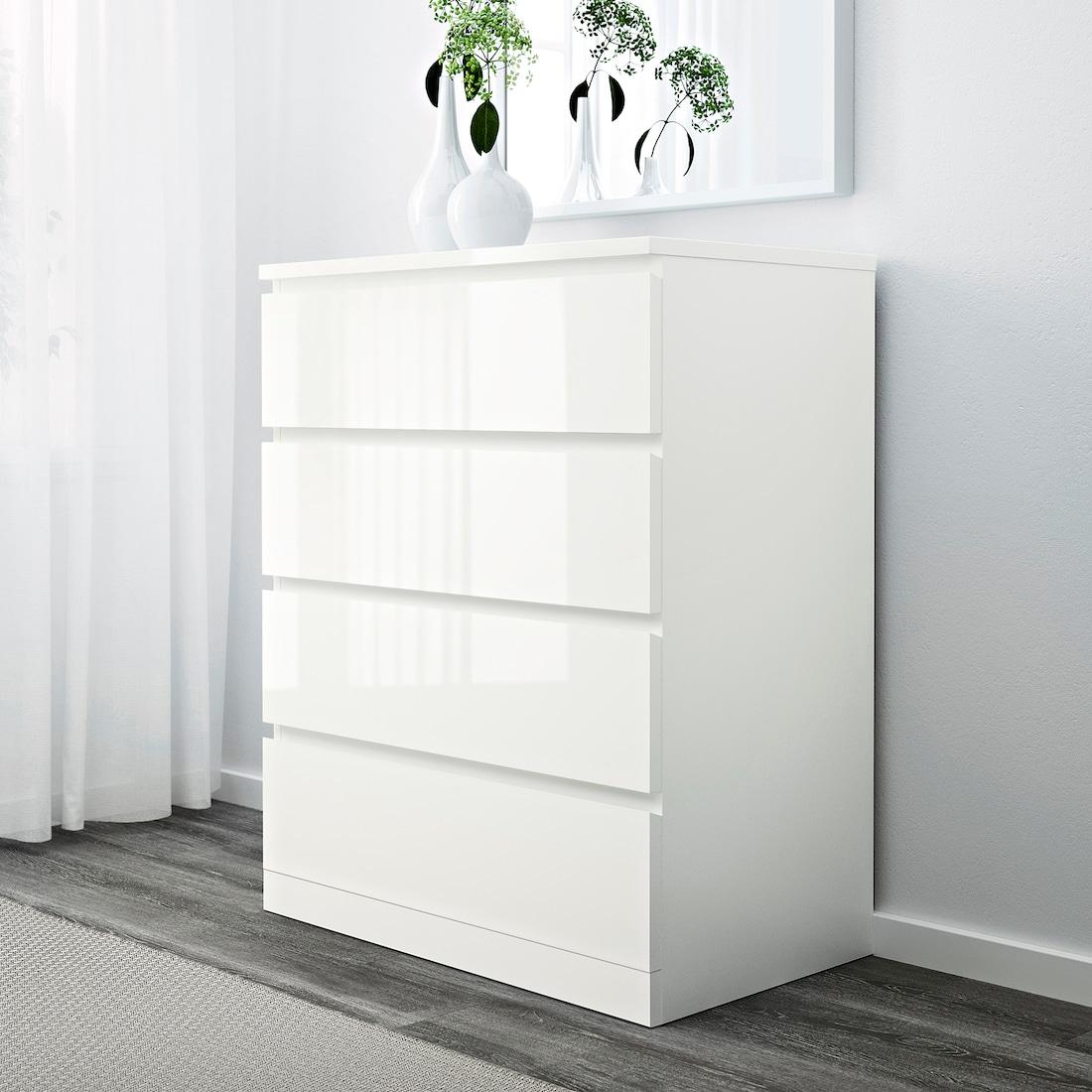 Ikea Malm Kommode Hochglanz 2021