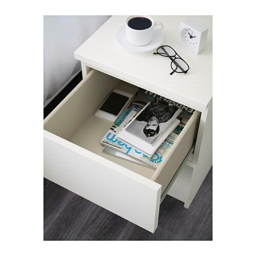 Nachtkonsole Ikea ikea malm kommode mit 2 schubladen weiß nachtkonsole nachttisch schrank neu ovp traumfabrik