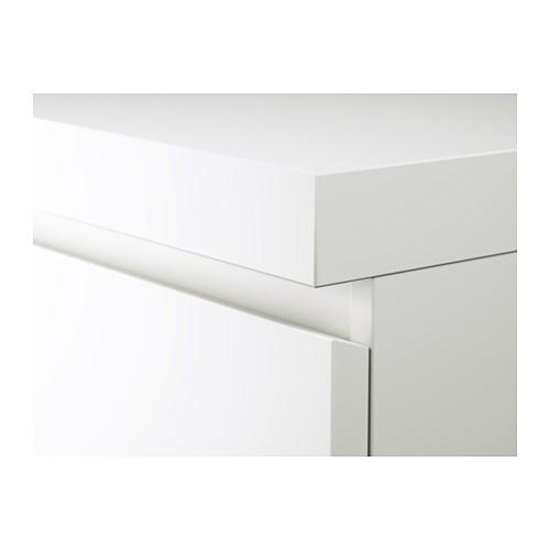 Malm Schreibtisch Weiß Ikea