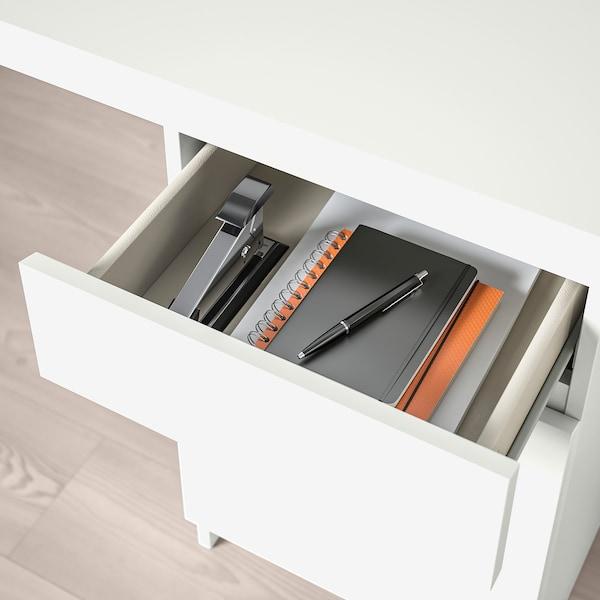 MALM Schreibtisch, weiß, 140x65 cm