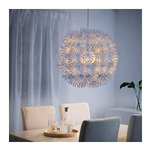 ikea maskros pusteblume 55cm h ngeleuchte deckenlampe h ngelampe leuchte lampe traumfabrik xxl. Black Bedroom Furniture Sets. Home Design Ideas