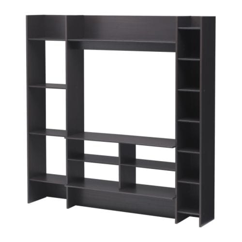 ikea hannover mavas tv wand f r 39 99 euro in schwarzbraun. Black Bedroom Furniture Sets. Home Design Ideas