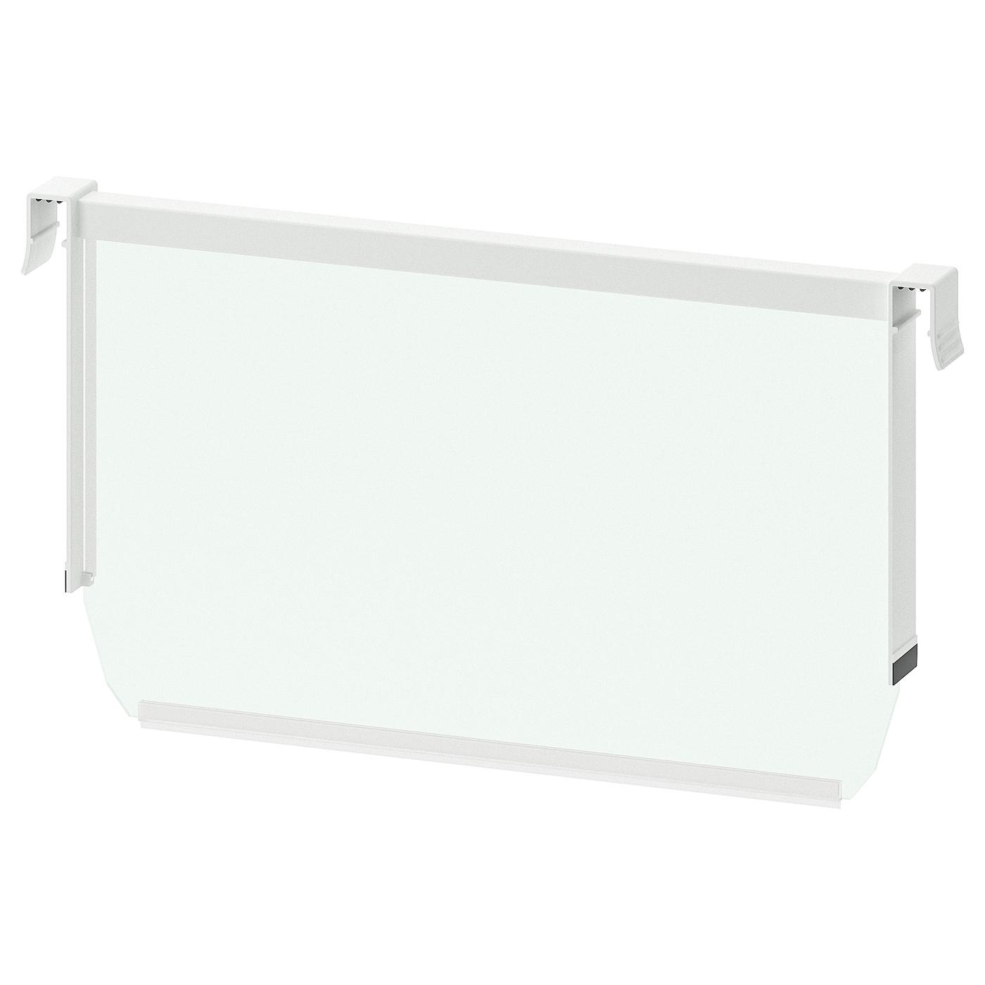 MAXIMERA Trennsteg Für Hohe Schublade Weiß Transparent