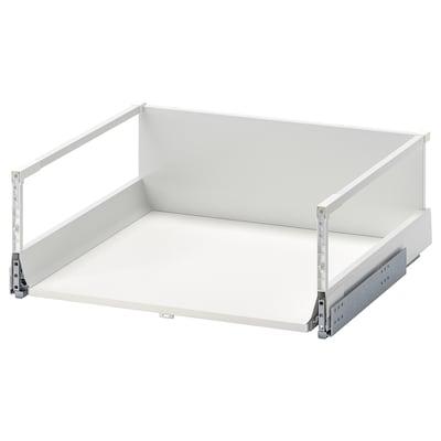 MAXIMERA Schublade hoch, weiß, 60x60 cm