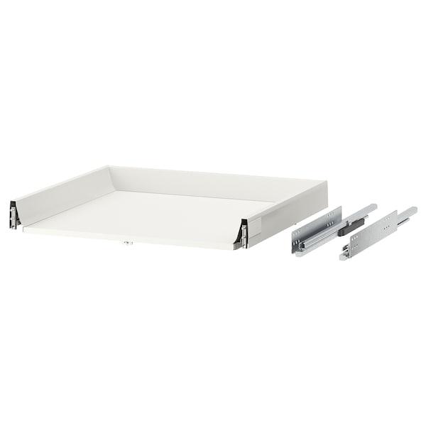 MAXIMERA Schublade, niedrig, weiß, 60x60 cm