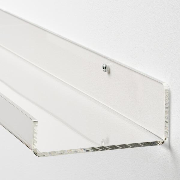 MELLÖSA Bilderleiste, transparent, 60 cm