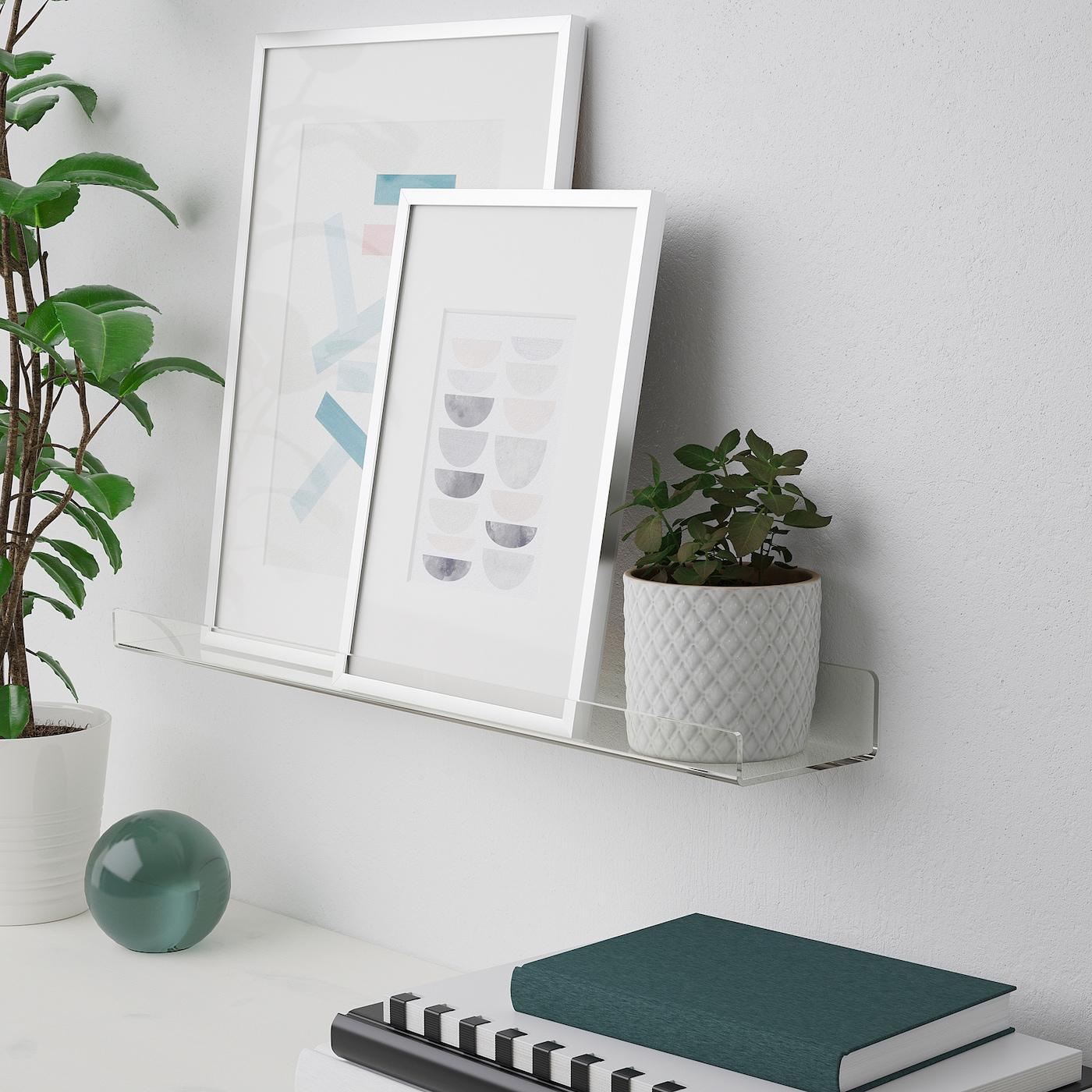 IKEA MALERAS Bilderleiste aus Bambus; Fotoleiste Holzleiste Dekoration 75cm