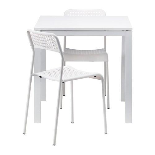 MELLTORP / ADDE Tisch und 2 Stühle - IKEA