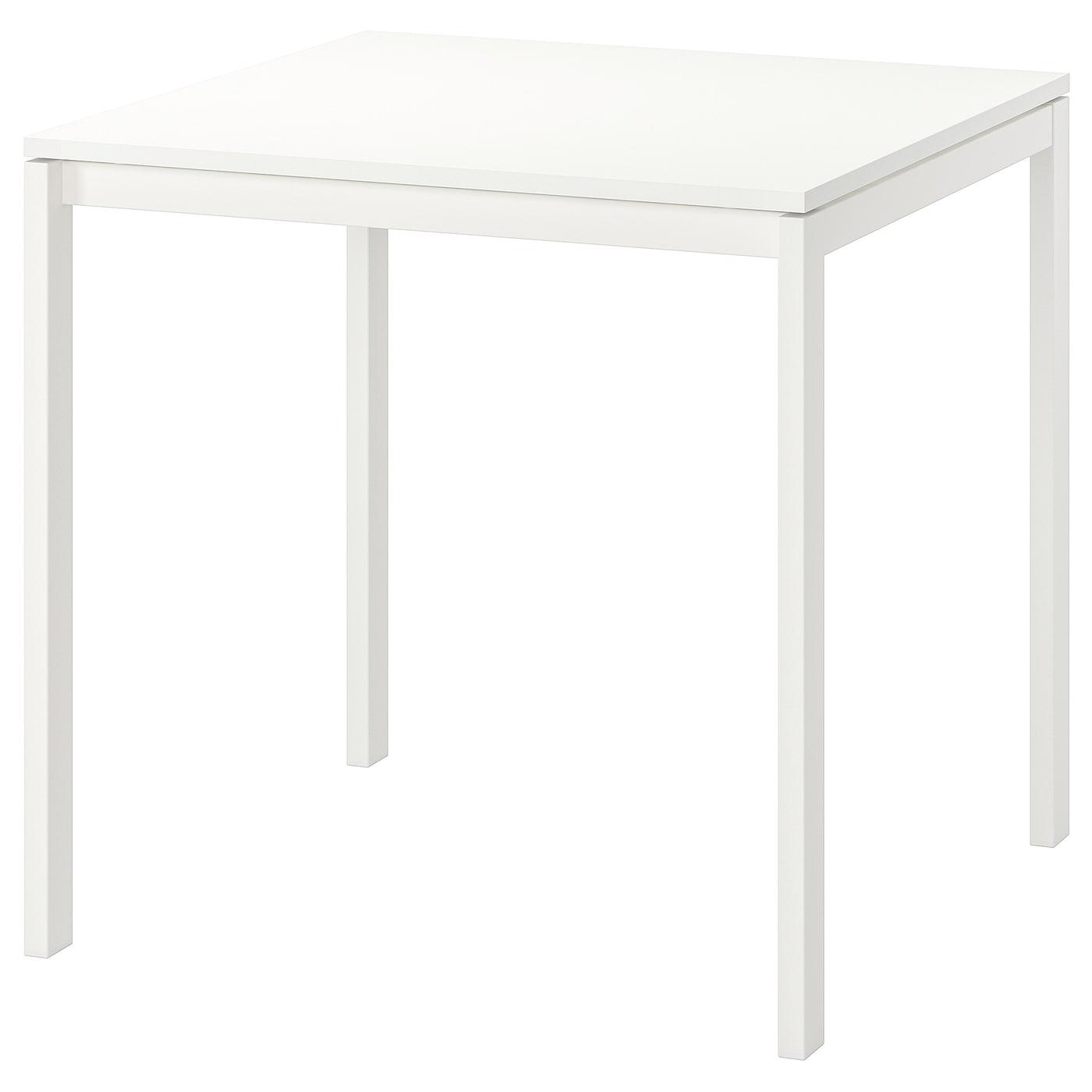 MELLTORP Tisch weiß 75x75 cm