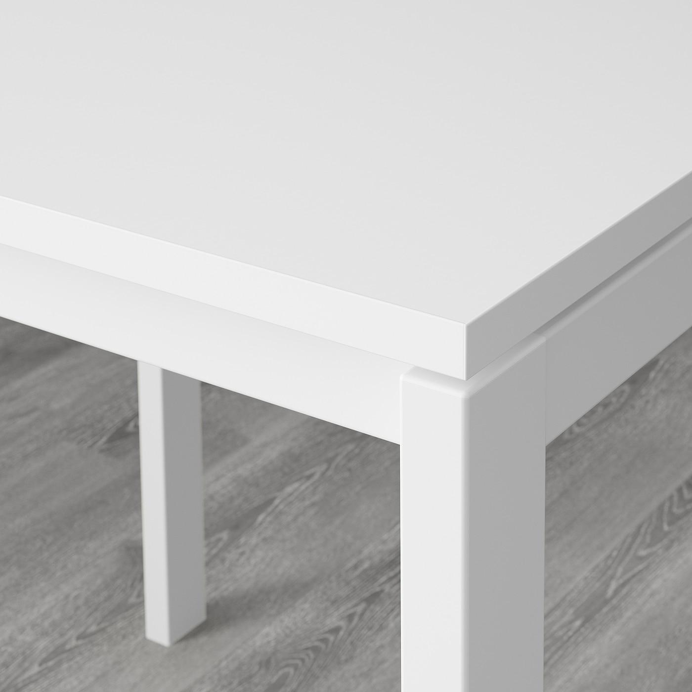 MELLTORP Tisch weiß 125x75 cm