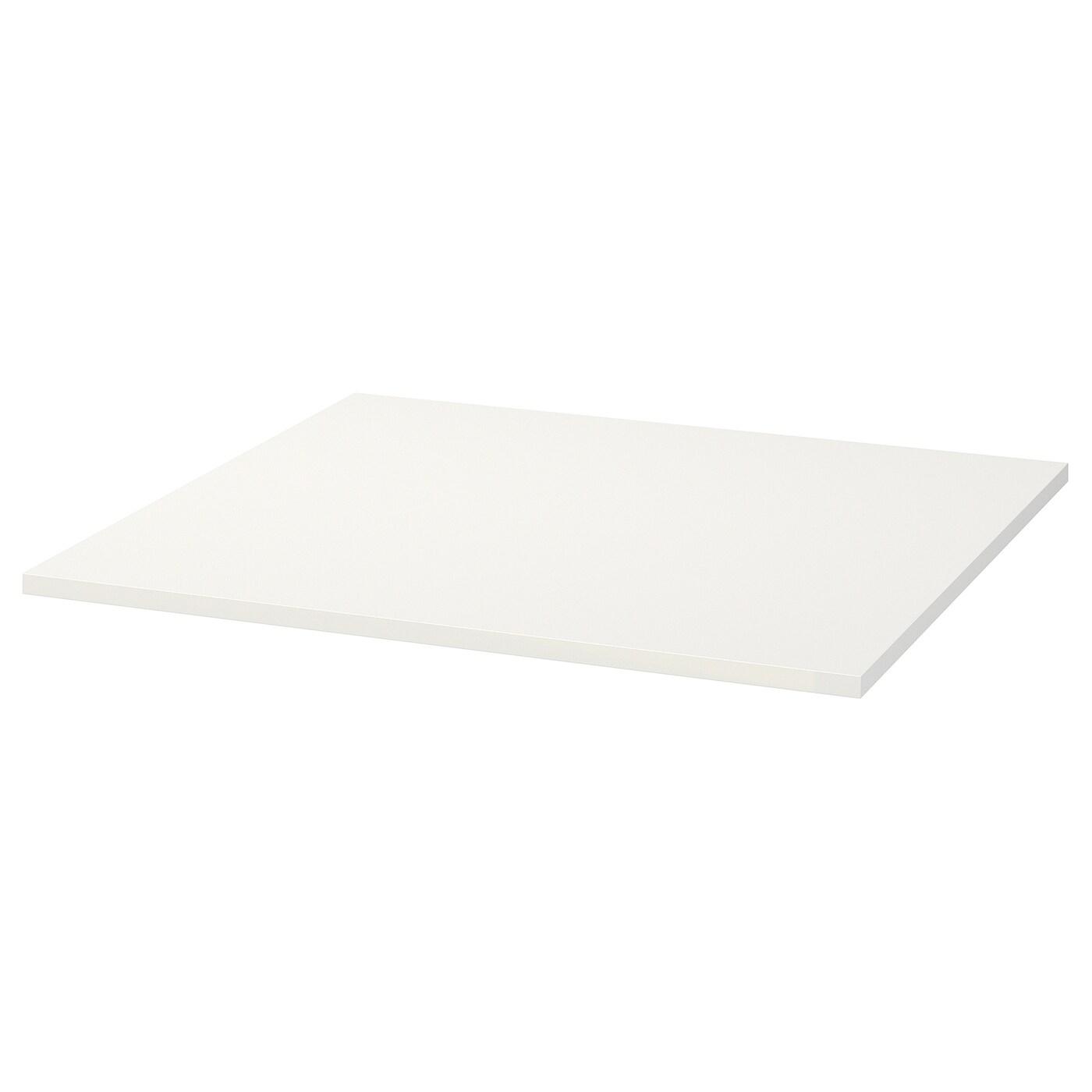 MELLTORP Tischplatte weiß 75x75 cm
