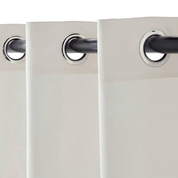 MERETE 2 Gardinenschals (abdunk.), weiß, 145x250 cm