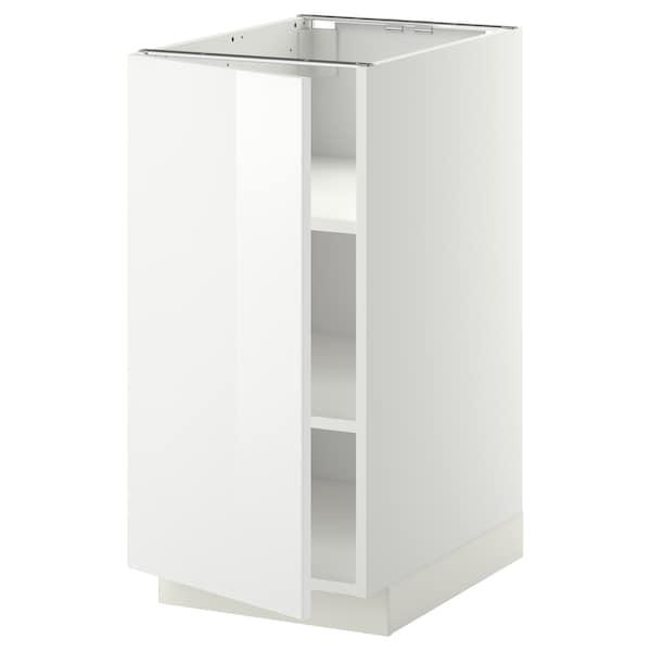 METOD Unterschrank mit Böden - weiß, Ringhult weiß - IKEA ...
