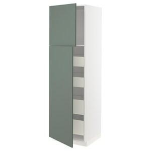 Front: Bodarp graugrün.