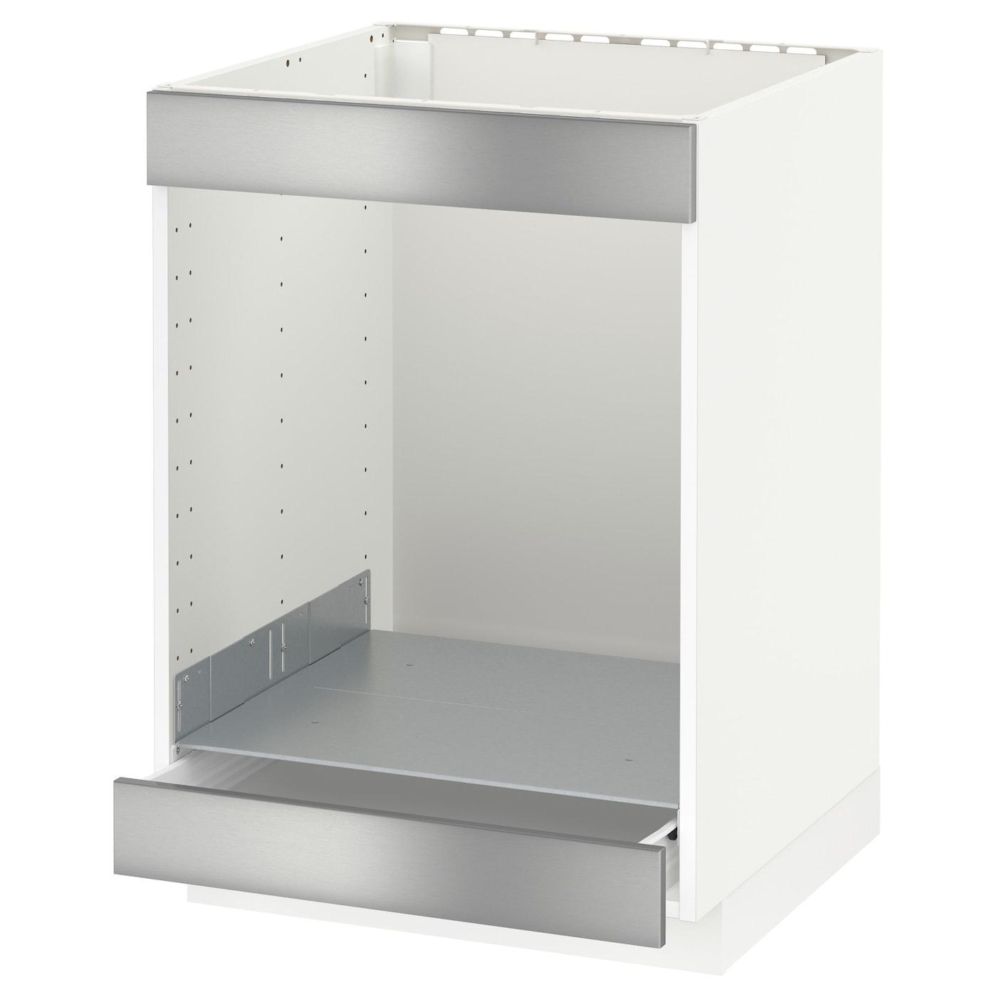 METOD Eckunterschrank+Karussell - weiß, Veddinge weiß - IKEA