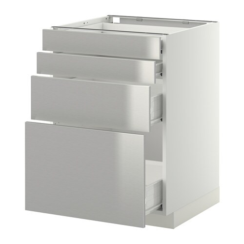 metod f rvara unterschr 4 fronten 4 schubladen wei. Black Bedroom Furniture Sets. Home Design Ideas