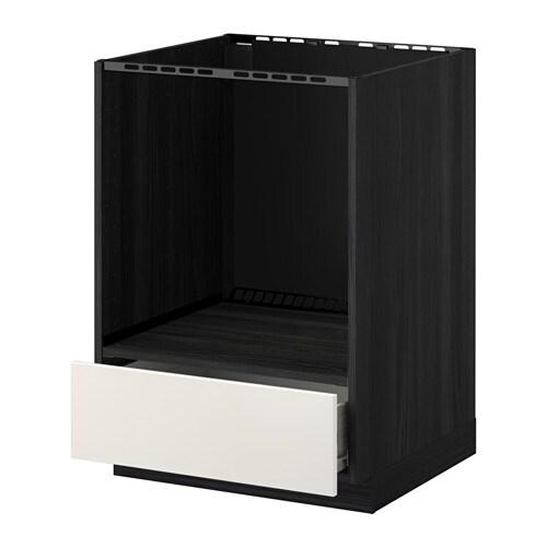 Udden Von Ikea Aus Edelstahl ~ METOD  FÖRVARA Unterschrank für Ofen mit Schubl FÖRVARA Schubladen