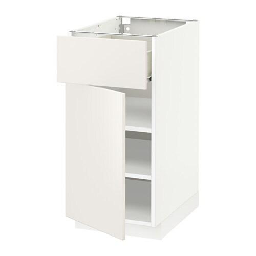 Dressing Table Organizer Ikea ~ METOD  FÖRVARA Unterschrank mit Schublade Tür FÖRVARA Schubladen