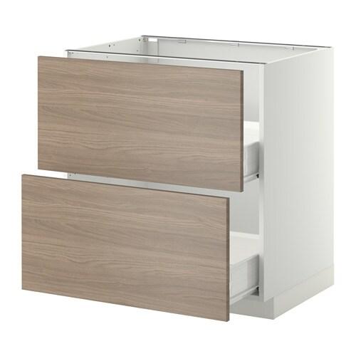 ikea metod f rvara uschr 2 fr 2 haho sch brokhult nussbaumnachbildung hellgrau wei 80x60. Black Bedroom Furniture Sets. Home Design Ideas