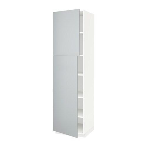 metod hochschr einlb d 2t ren wei veddinge grau 60x60x220 cm ikea. Black Bedroom Furniture Sets. Home Design Ideas
