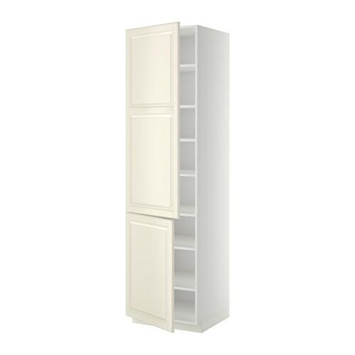 ... /Einlböd/2Türen - weiß, Bodbyn elfenbeinweiß, 60x60x220 cm - IKEA