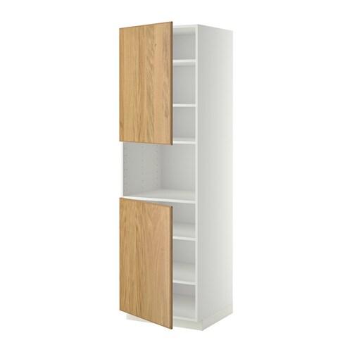 metod hochschr f mikrow 2t ren b wei hyttan. Black Bedroom Furniture Sets. Home Design Ideas