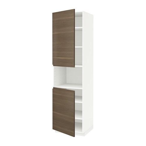 metod hochschr f mikrow 2t ren b wei voxtorp. Black Bedroom Furniture Sets. Home Design Ideas