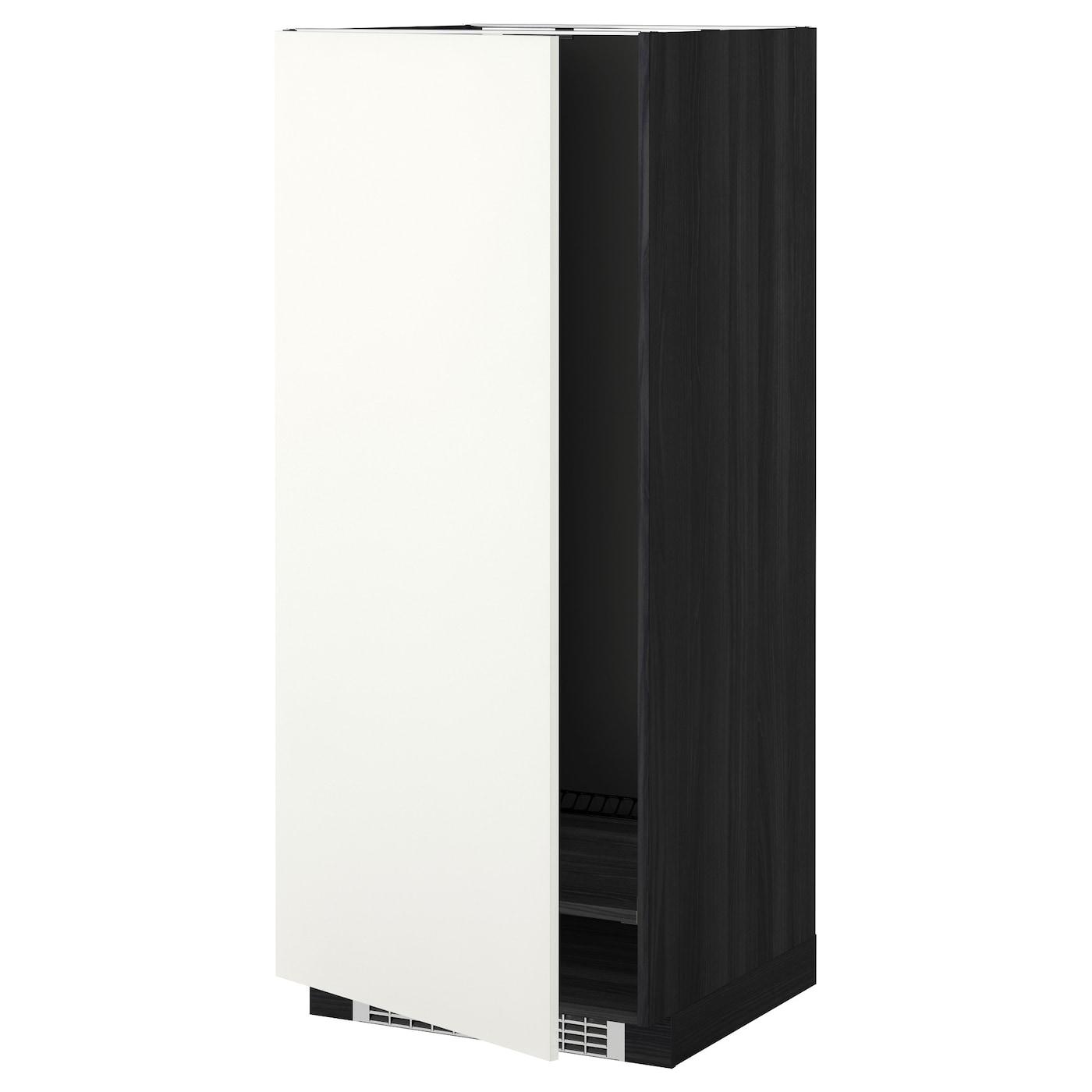 METOD, Hochschrank für Kühl-/Gefrierschrank, schwarz 399.253.21