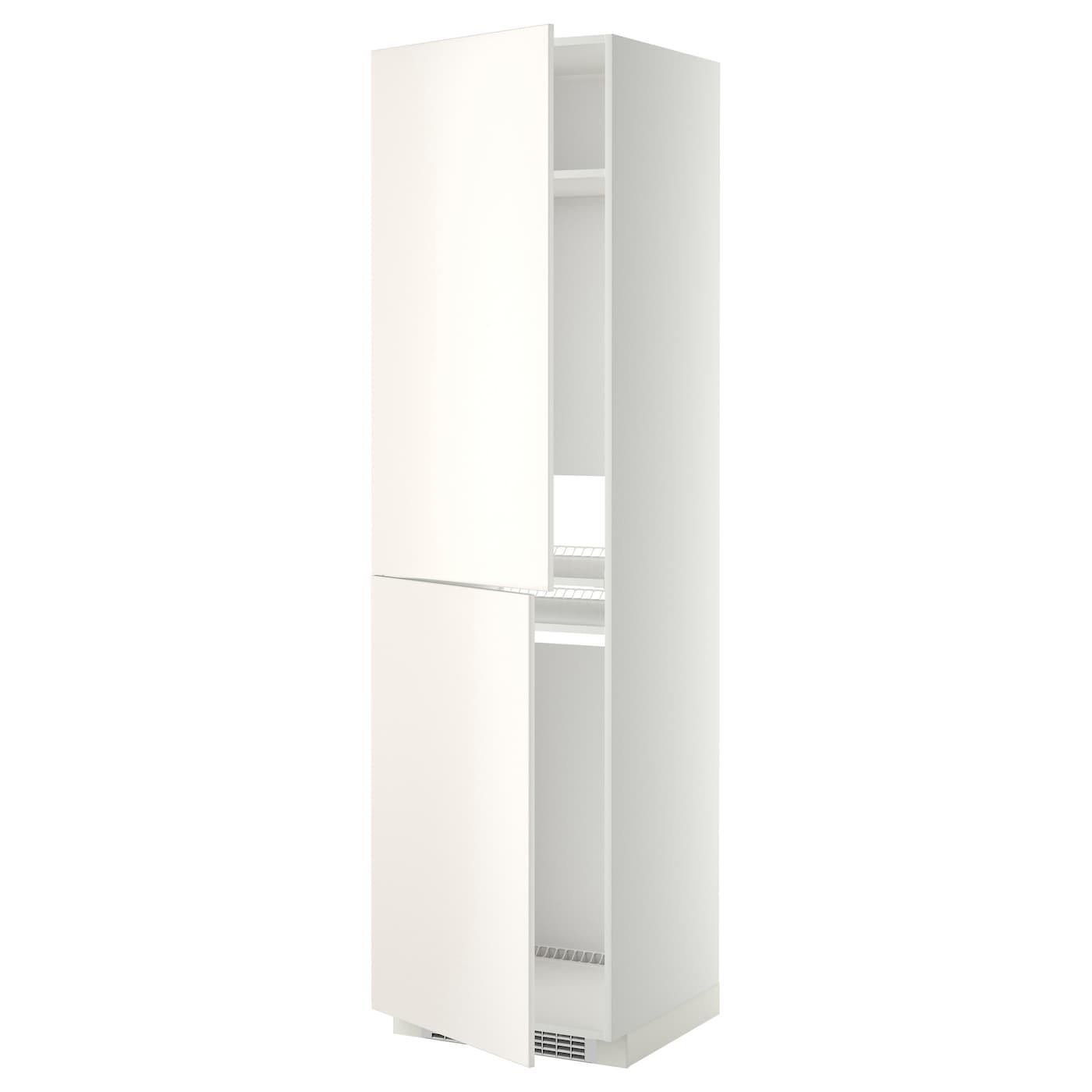METOD, Hochschrank für Kühl-/Gefrierschrank, weiß 499.207.09