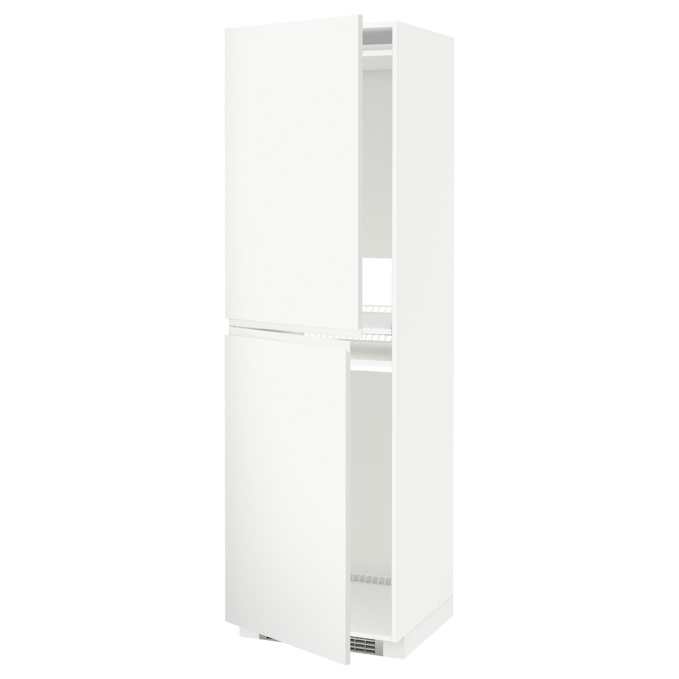 METOD, Hochschrank für Kühl-/Gefrierschrank, weiß 091.113.72