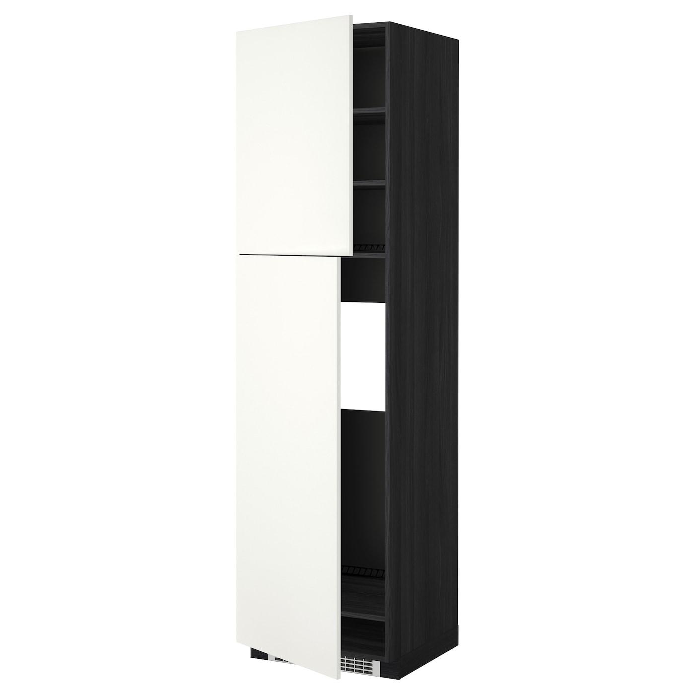 METOD, HS für Kühlschr m 2 Türen, schwarz 899.253.09