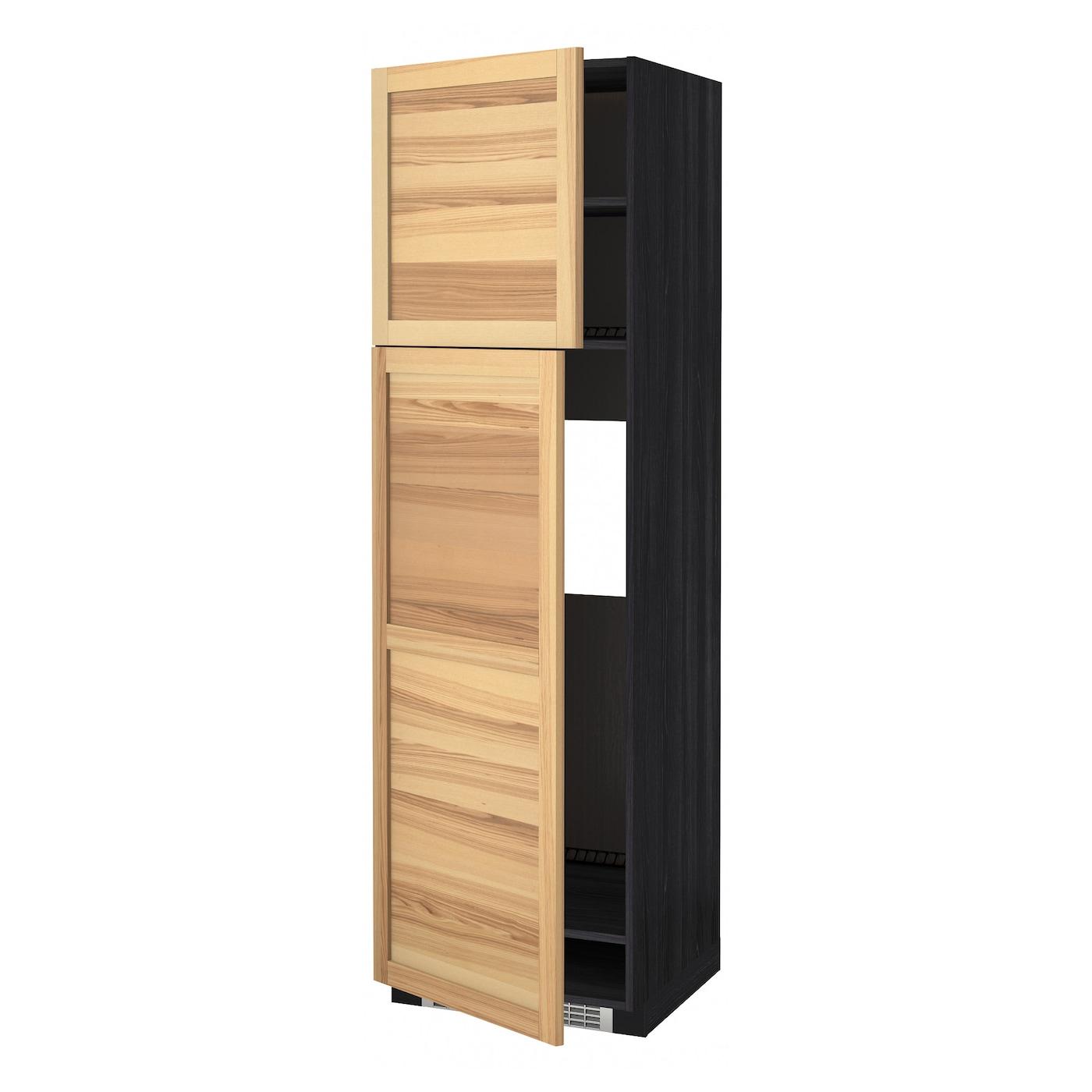METOD, HS für Kühlschr m 2 Türen, schwarz 991.347.22
